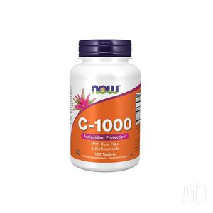 Supplements, NOW Vitamin C-1,000 With Rose Hips, | Vitamins & Supplements for sale in Greater Accra, Achimota