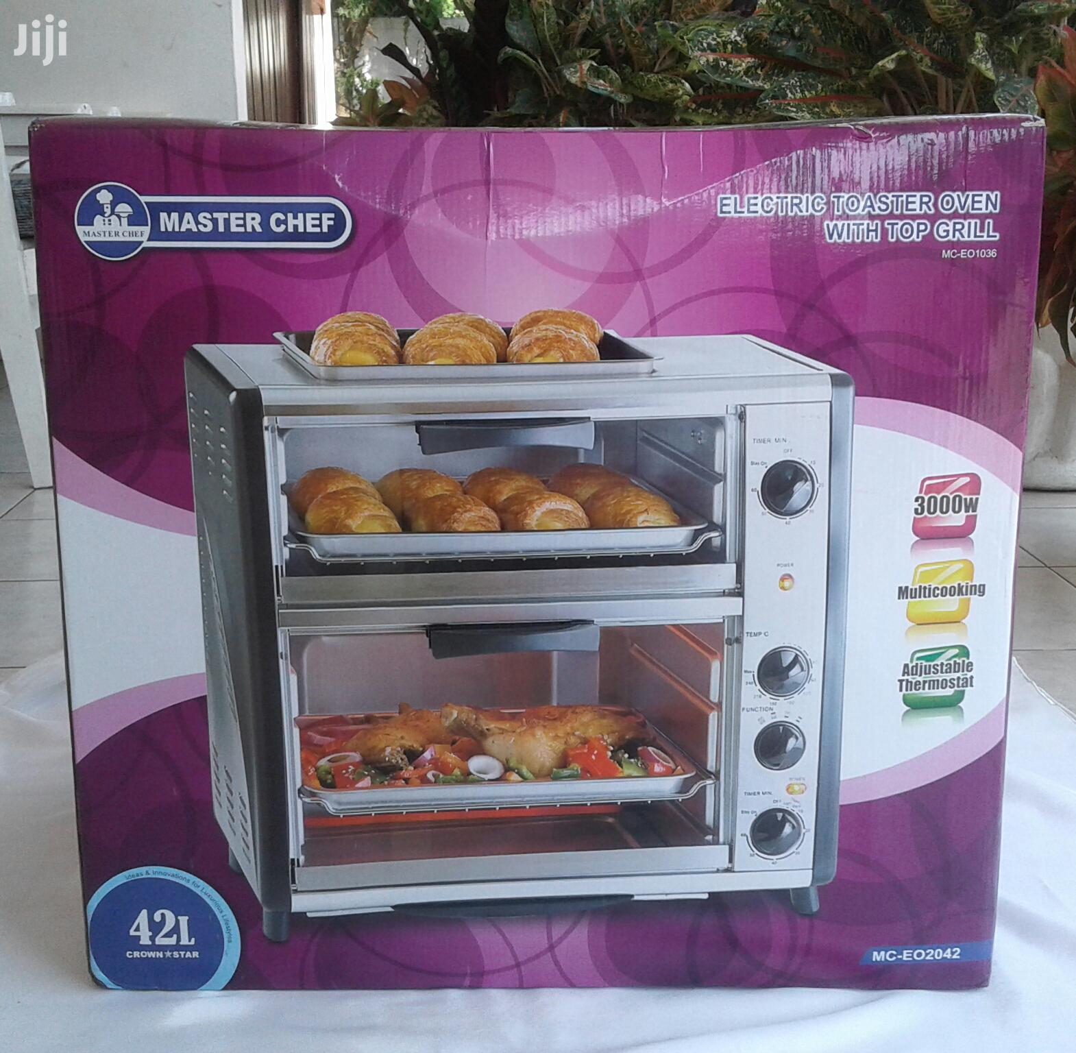 Archive: Master Chef Electric Toaster-oven With Top Grill