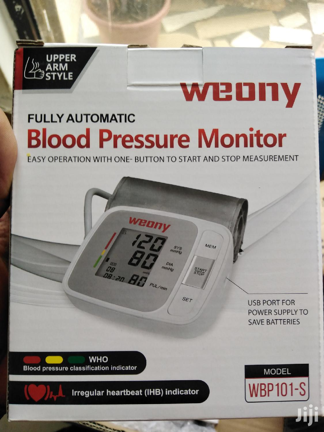 Archive: Blood Pressure Monitor With Usb Port