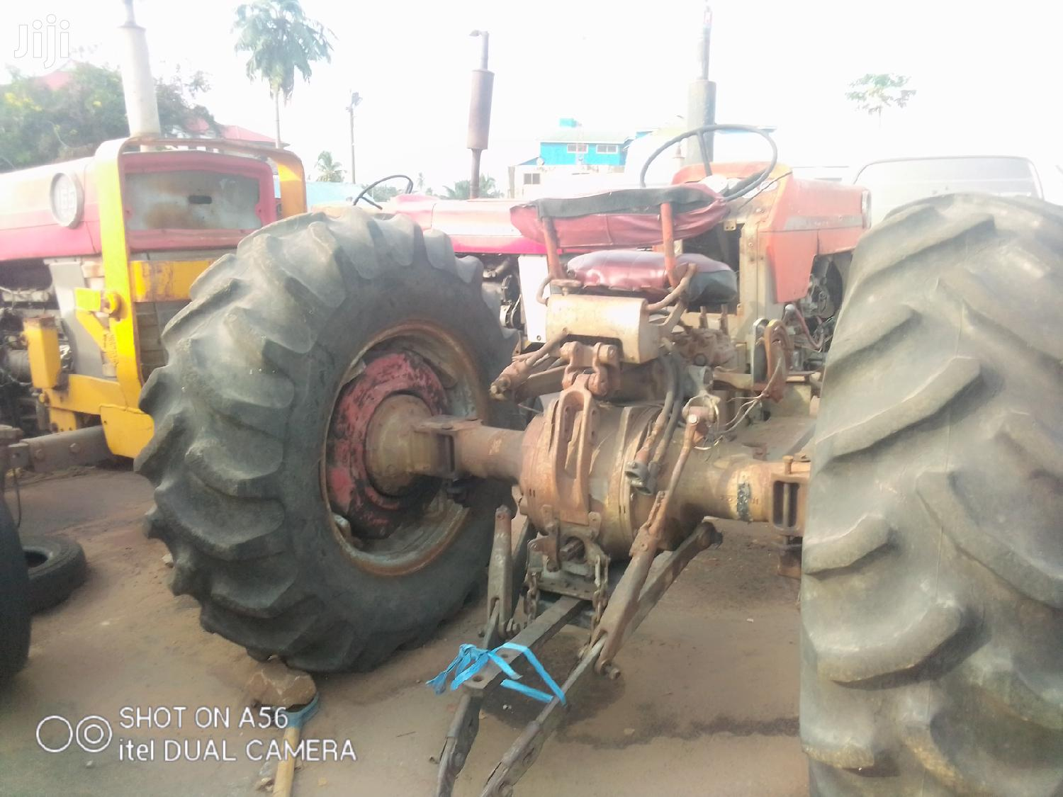 Mf 165 Tractor 1999 Red