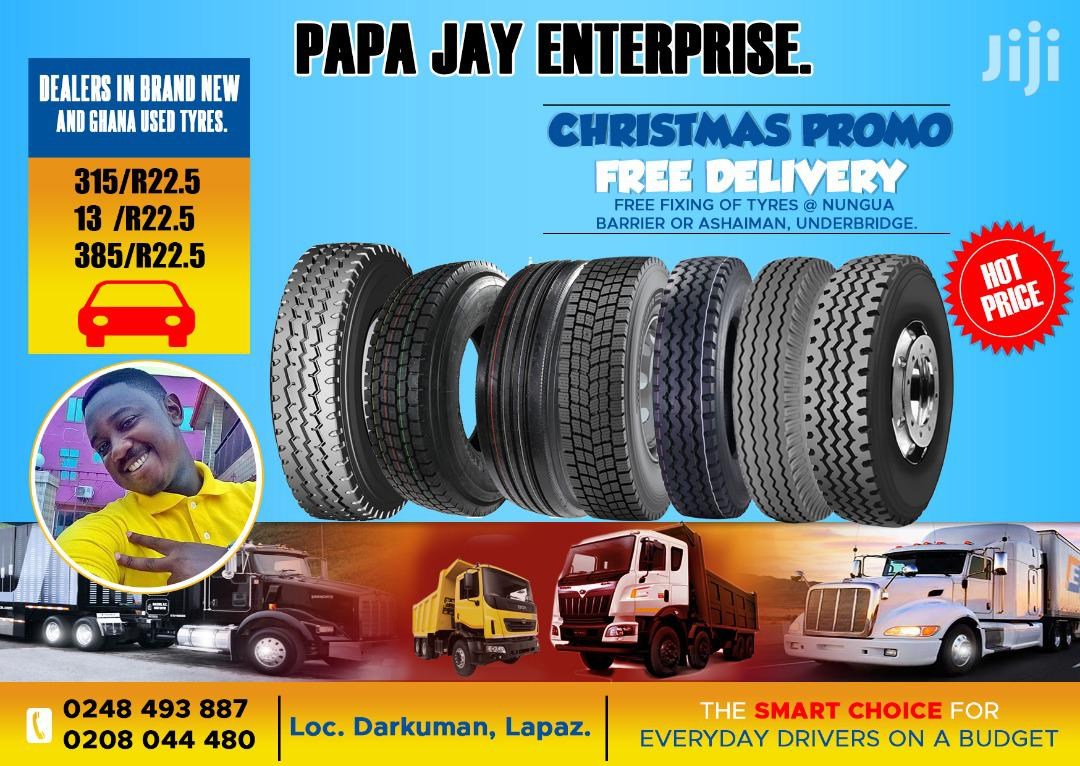 Heavy Duty Tyres of All Kinds: