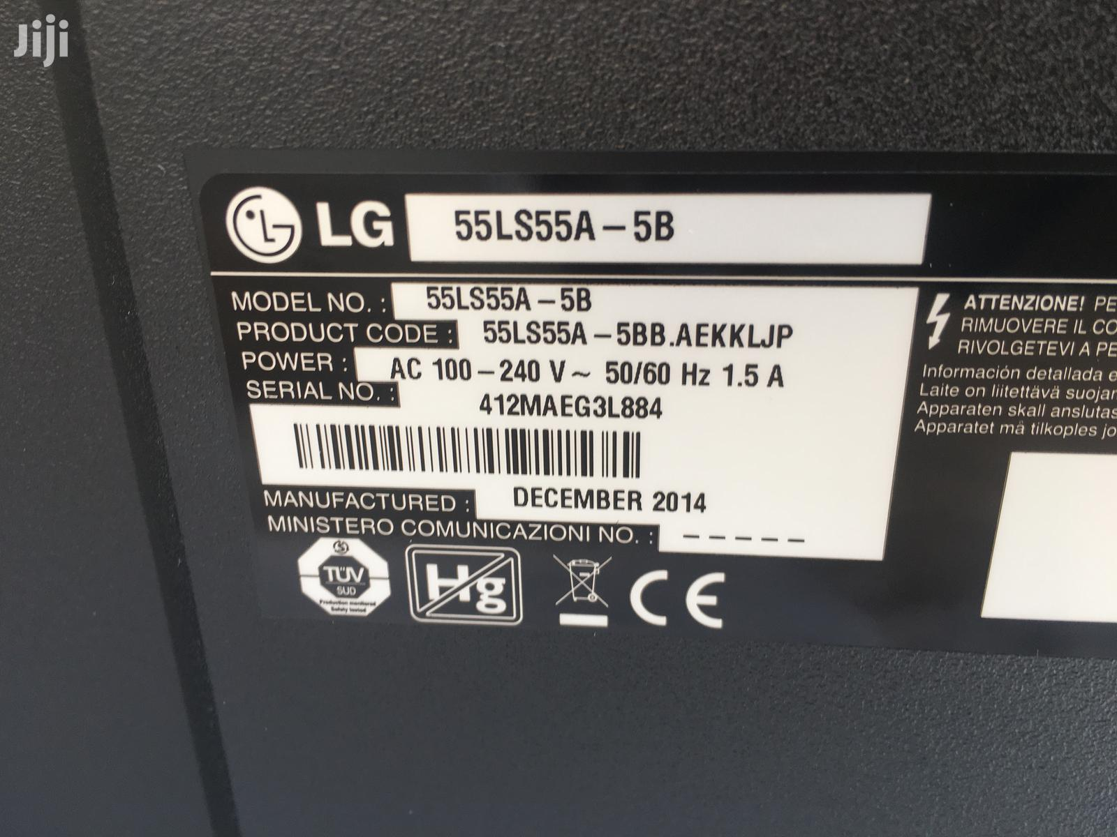 Lg 55 Monitor | TV & DVD Equipment for sale in Ashaiman Municipal, Greater Accra, Ghana
