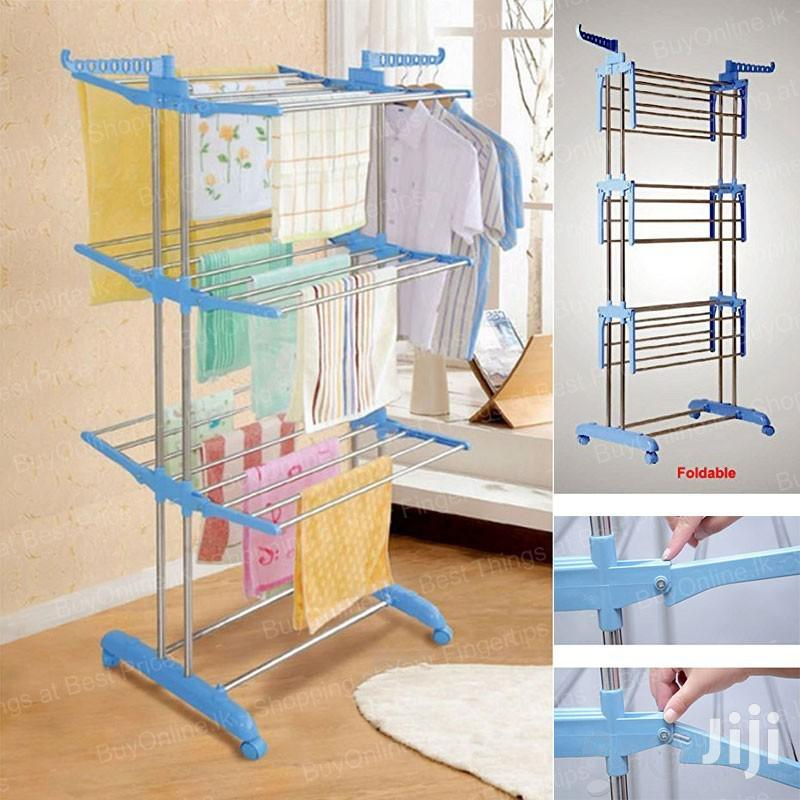 3 Tier Foldable Drying Rack Cloth Laundry Hanger