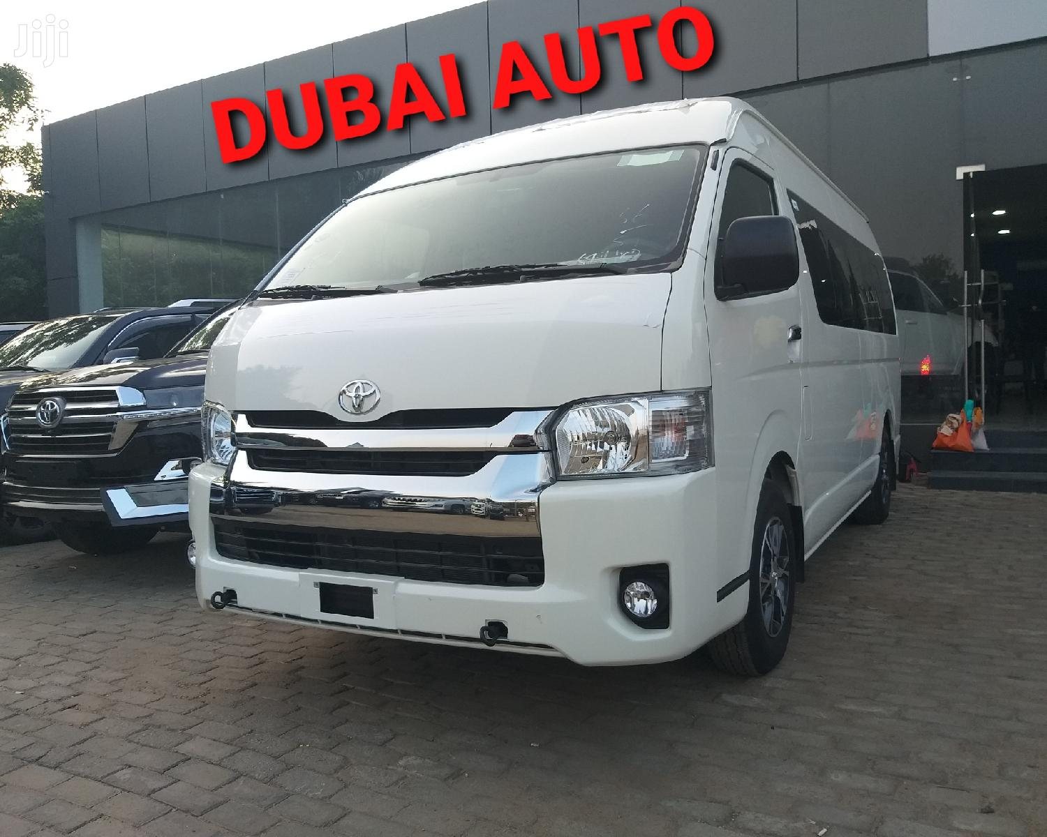 Toyota Hiace GL Hiroof 2019 White | Buses & Microbuses for sale in East Legon, Greater Accra, Ghana
