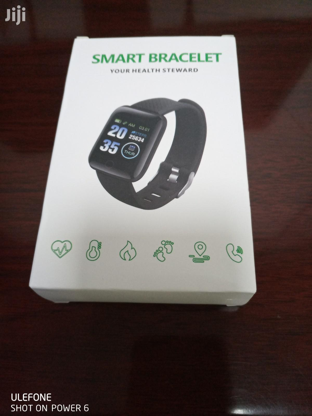 Color Screen Smart Bracelet Sleep Monitoring Life Waterproof | Smart Watches & Trackers for sale in East Legon, Greater Accra, Ghana