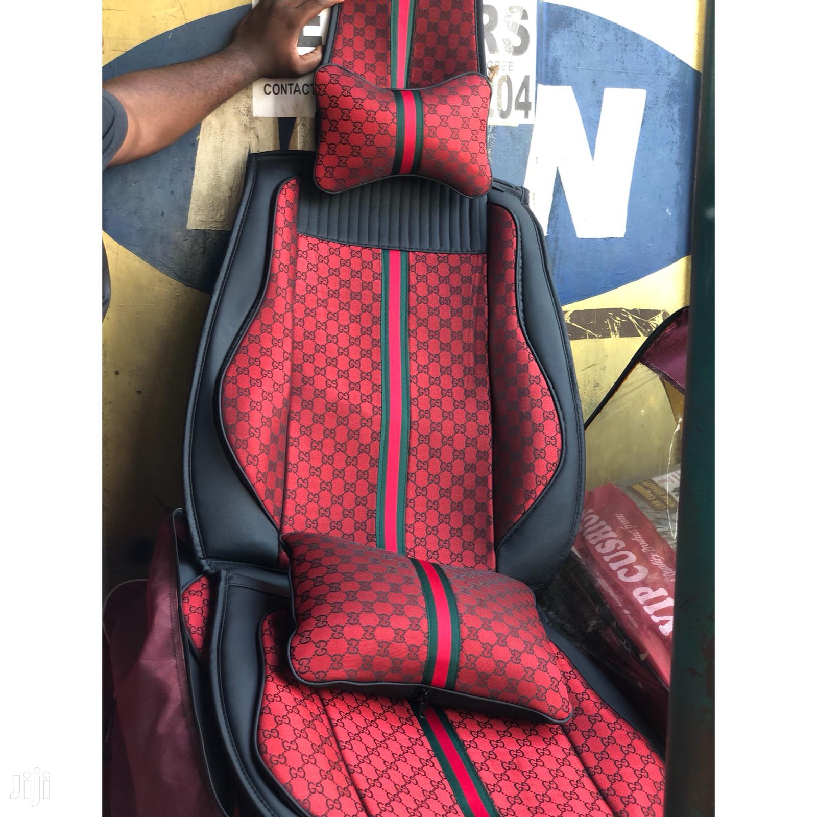 Gucci Seat Support With Pillow And Neck Rest