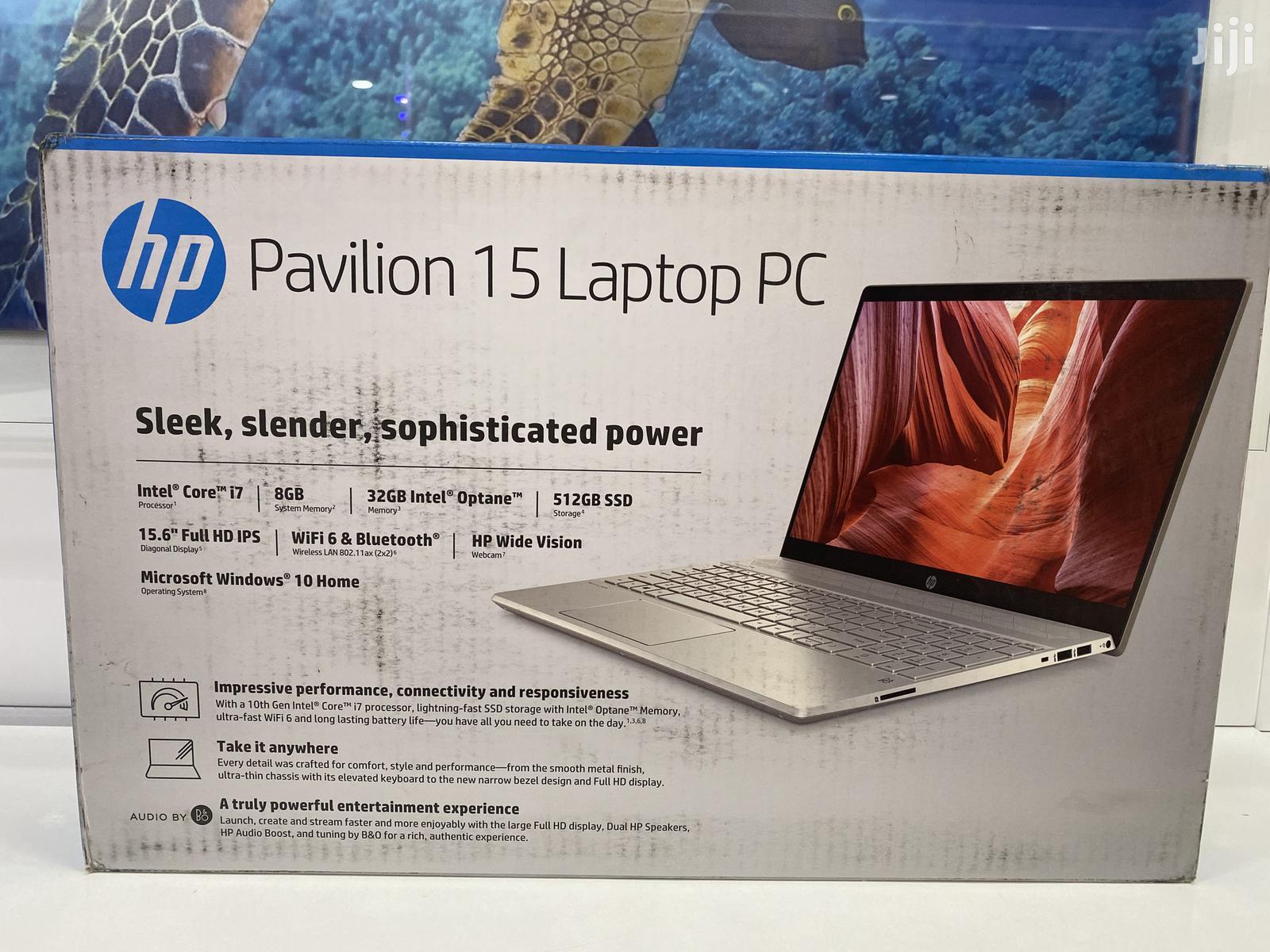 New Laptop HP Pavilion 15 8GB Intel Core i7 SSD 512GB