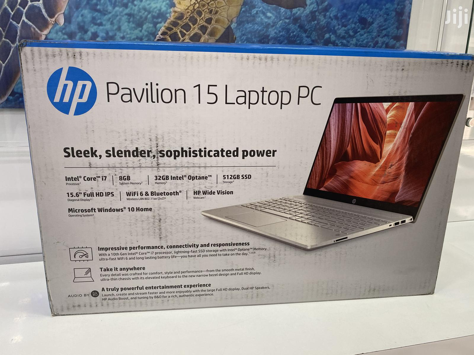 New Laptop HP Pavilion 15 8GB Intel Core i7 SSD 512GB | Laptops & Computers for sale in Kokomlemle, Greater Accra, Ghana