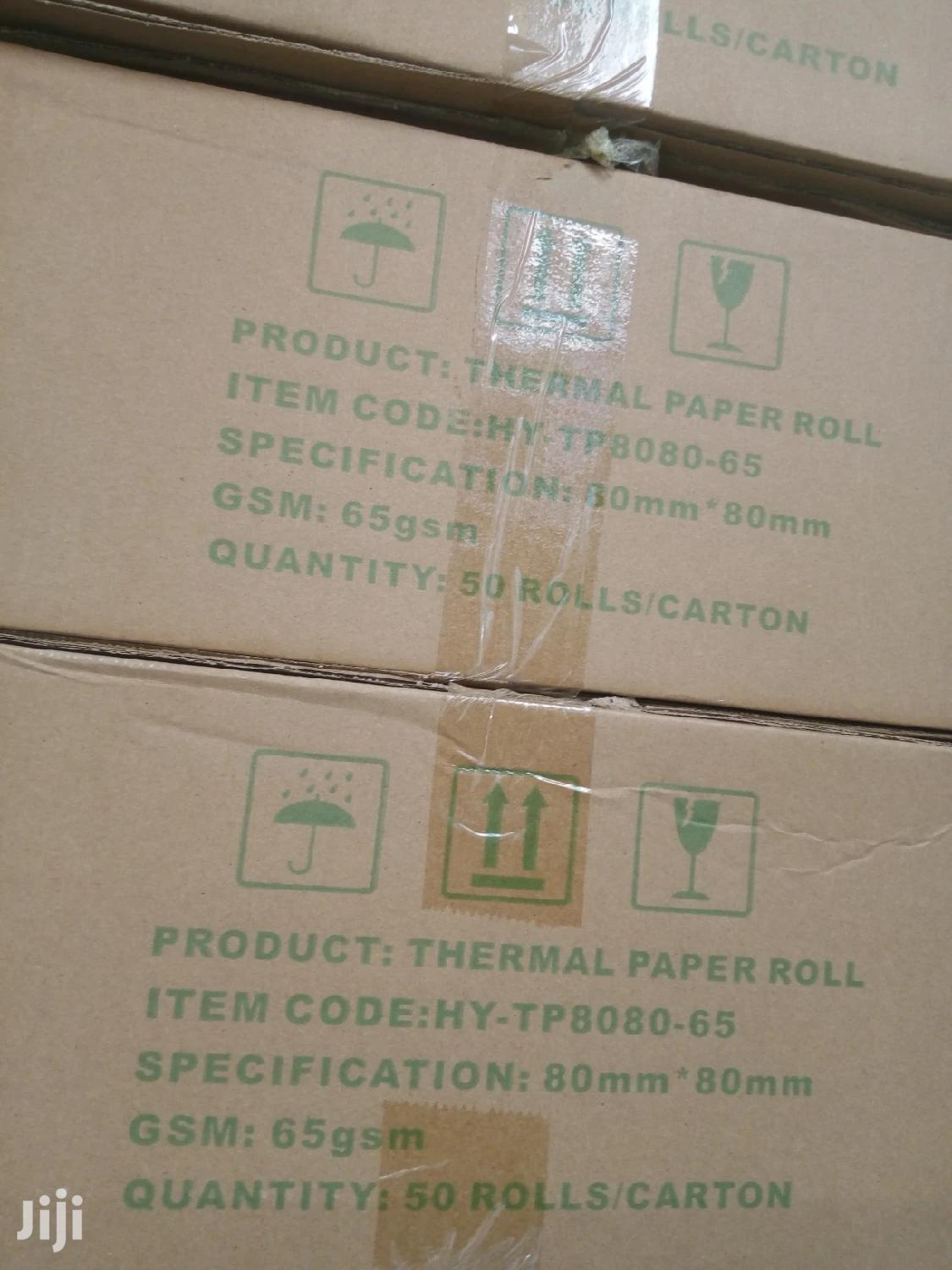 Archive: 80mm * 80mm Thermal Paper Rolls