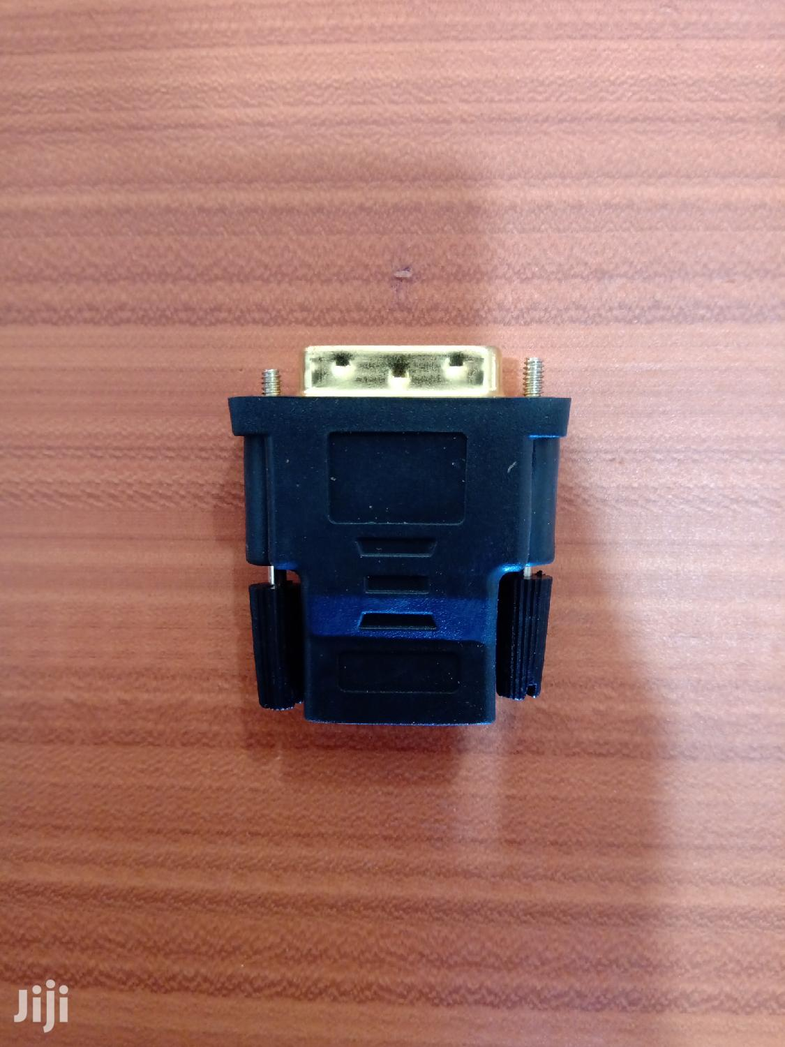 DVI To HDMI Adapter   Computer Accessories  for sale in Accra Metropolitan, Greater Accra, Ghana