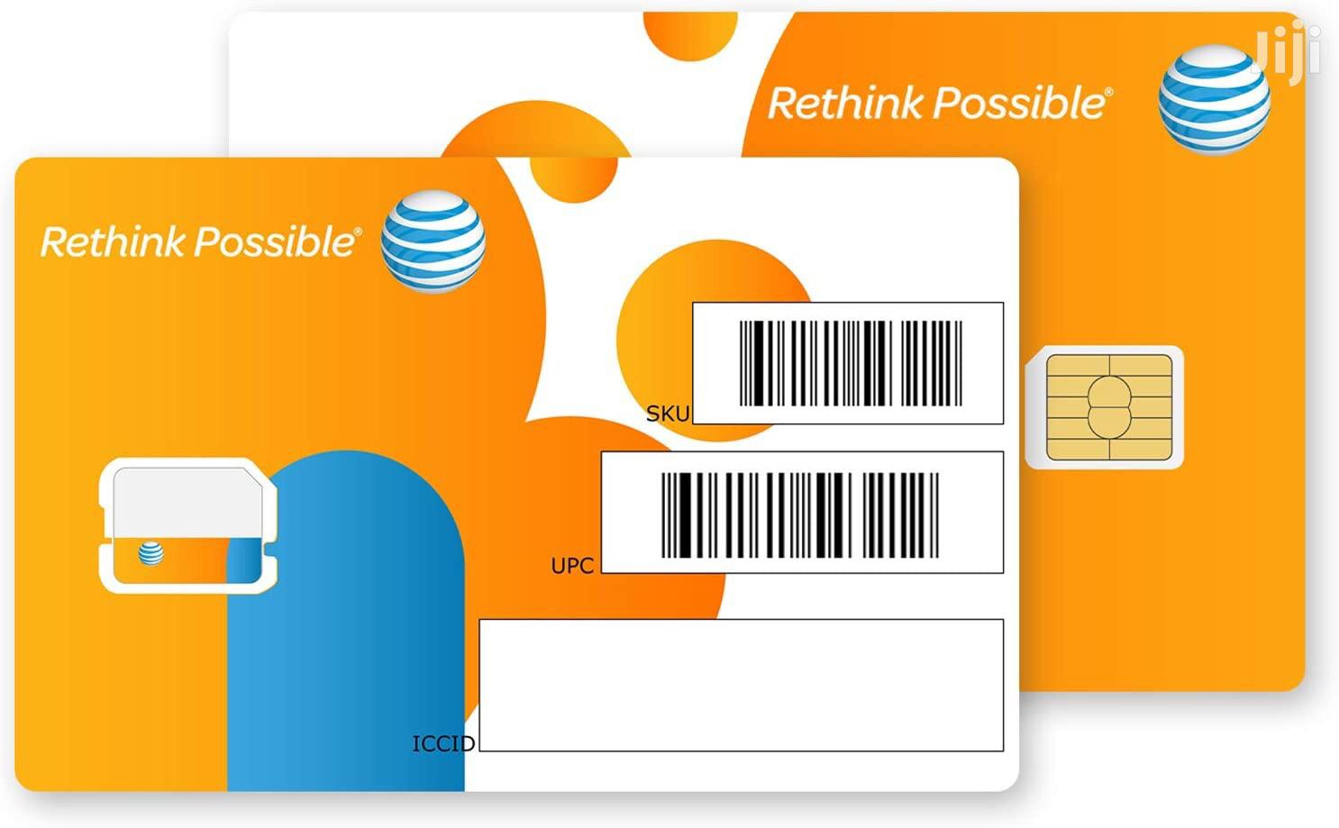 AT&T Data Sim Cards | Accessories for Mobile Phones & Tablets for sale in Kokomlemle, Greater Accra, Ghana
