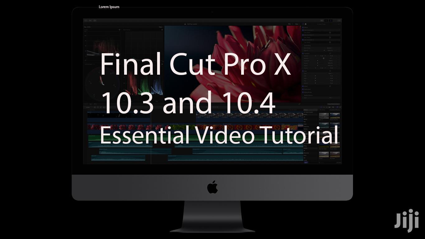 Apple Final Cut Pro X Essential Video Tutorial