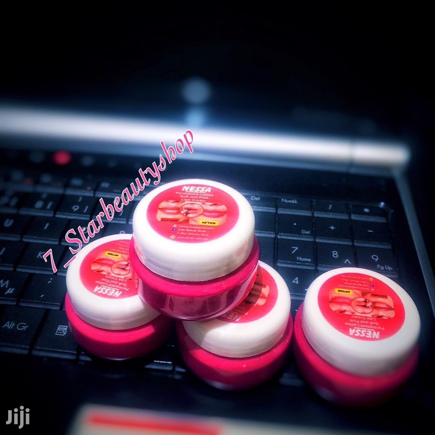 Permanet Pink Lips Cream | Makeup for sale in East Legon, Greater Accra, Ghana
