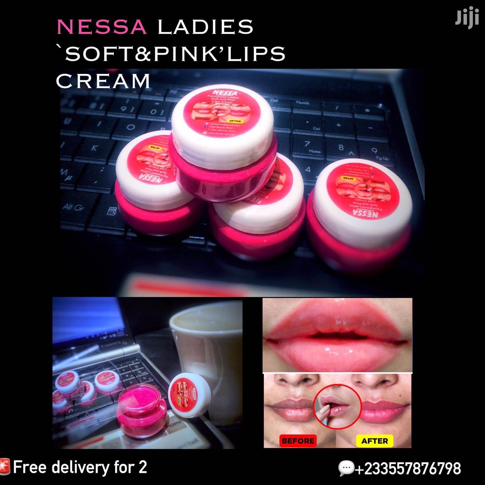 Permanet Pink Lips Cream