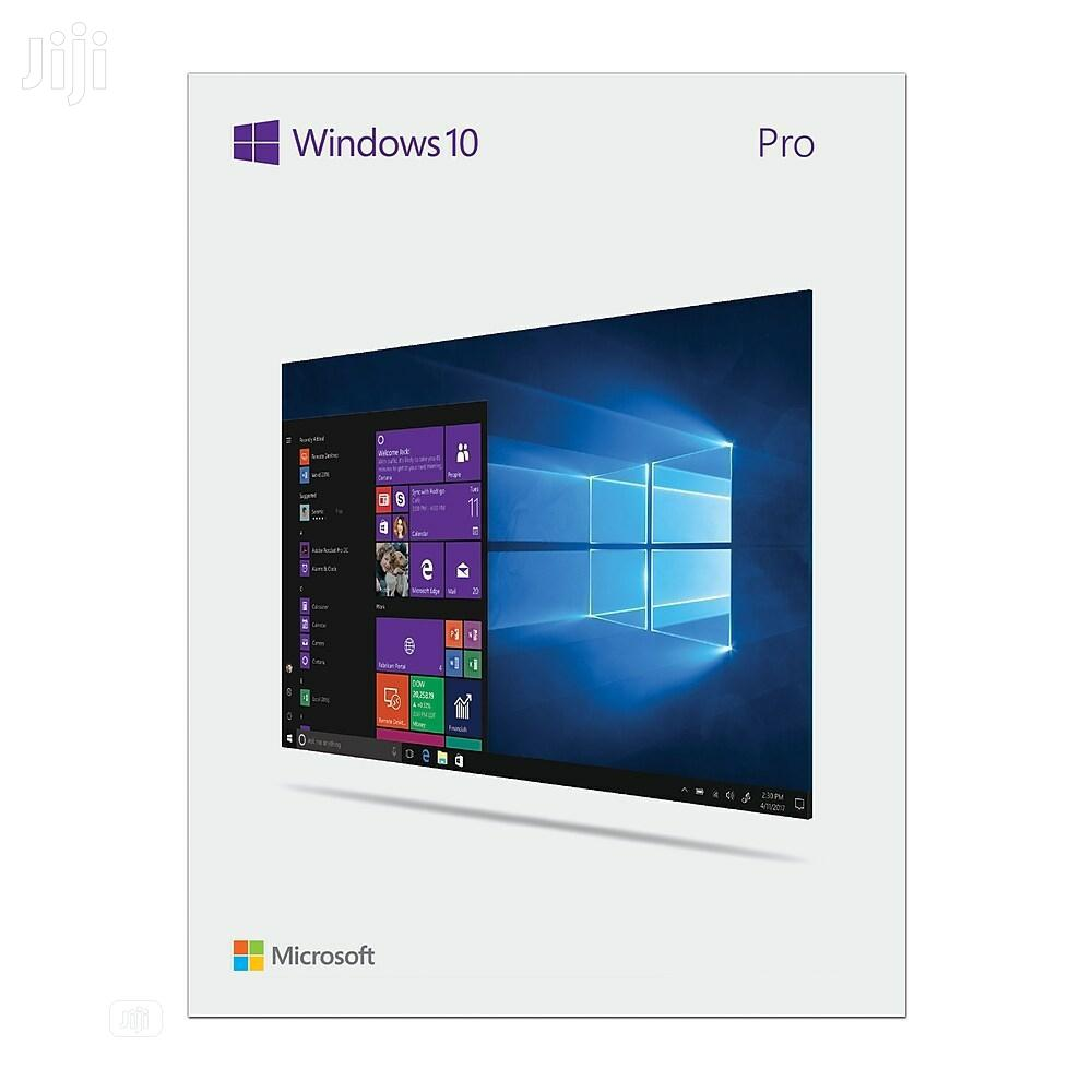 Microsoft Windows 10 Pro 20H2 Latest Version | Software for sale in Dansoman, Greater Accra, Ghana