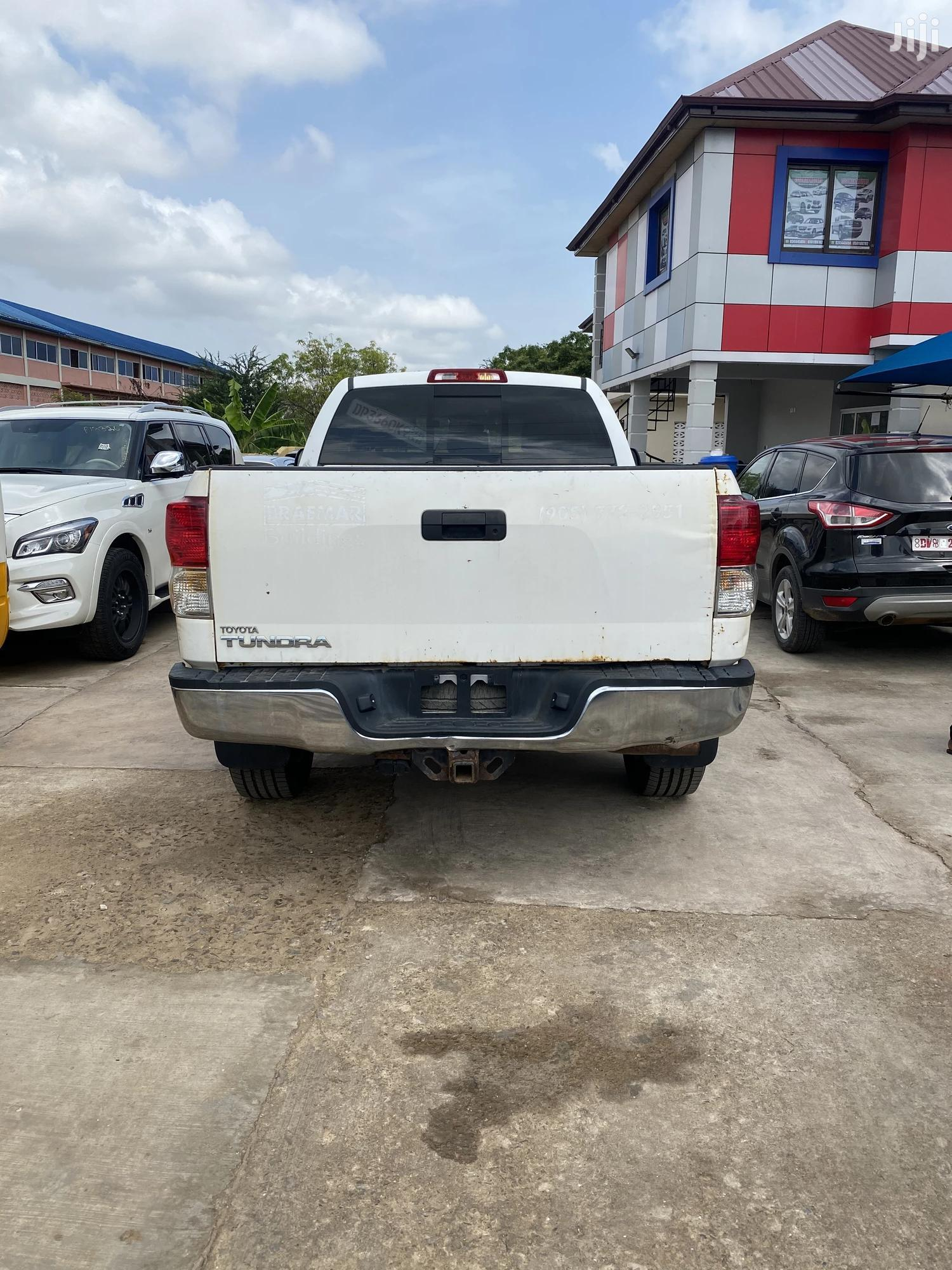 Toyota Tundra 2011 Double Cab 4x4 Limited White | Cars for sale in Accra Metropolitan, Greater Accra, Ghana