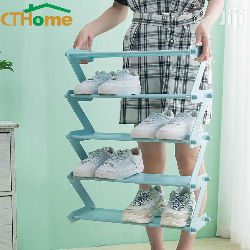 Z Shaped Shoe Rack / Multipurpose Storage Rack | Furniture for sale in Accra Metropolitan, Greater Accra, Ghana