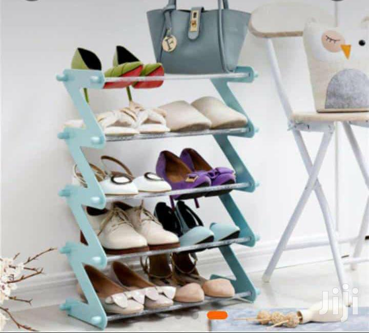 Z Shaped Shoe Rack / Multipurpose Storage Rack