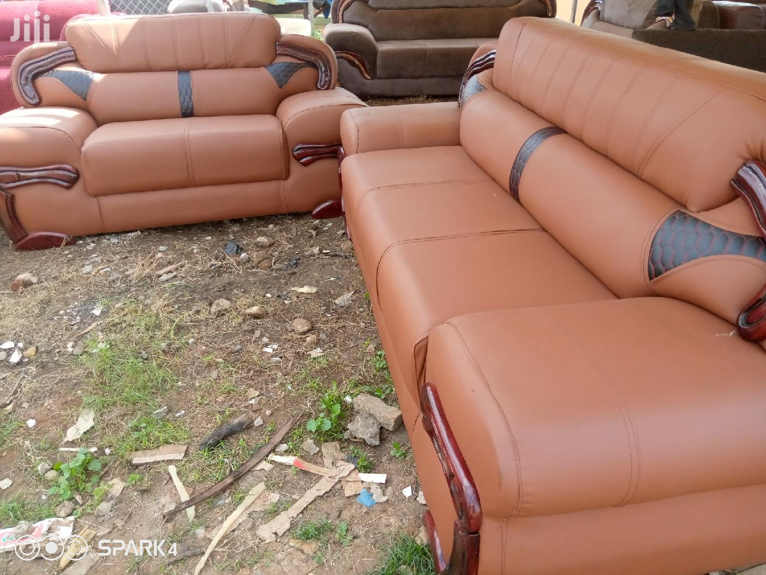 Quality Sofas Big Chairs (Free Delivery) | Furniture for sale in Teshie-Nungua Estates, Greater Accra, Ghana