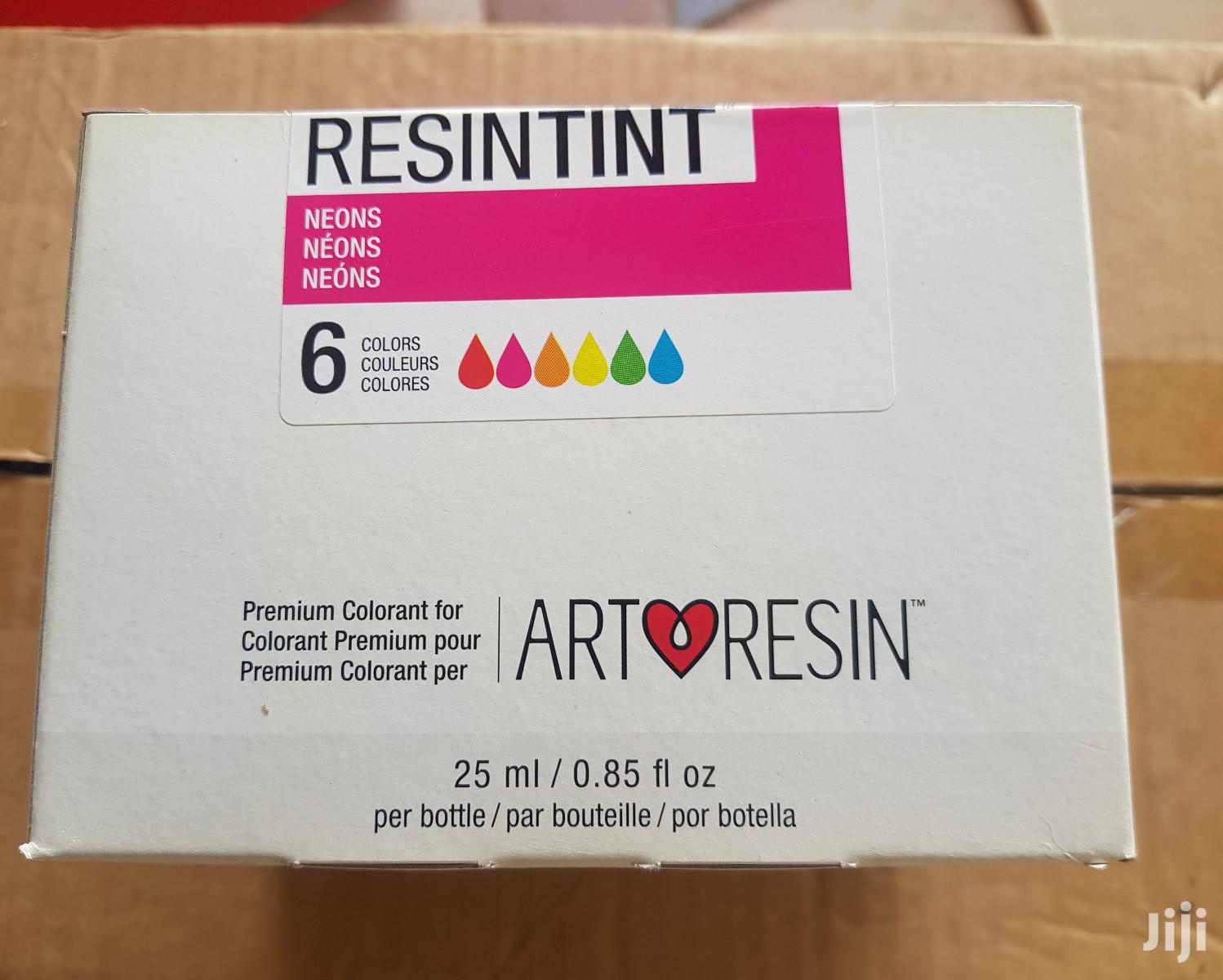 Resin Tint Neon 6 Colours | Arts & Crafts for sale in Adenta Municipal, Greater Accra, Ghana
