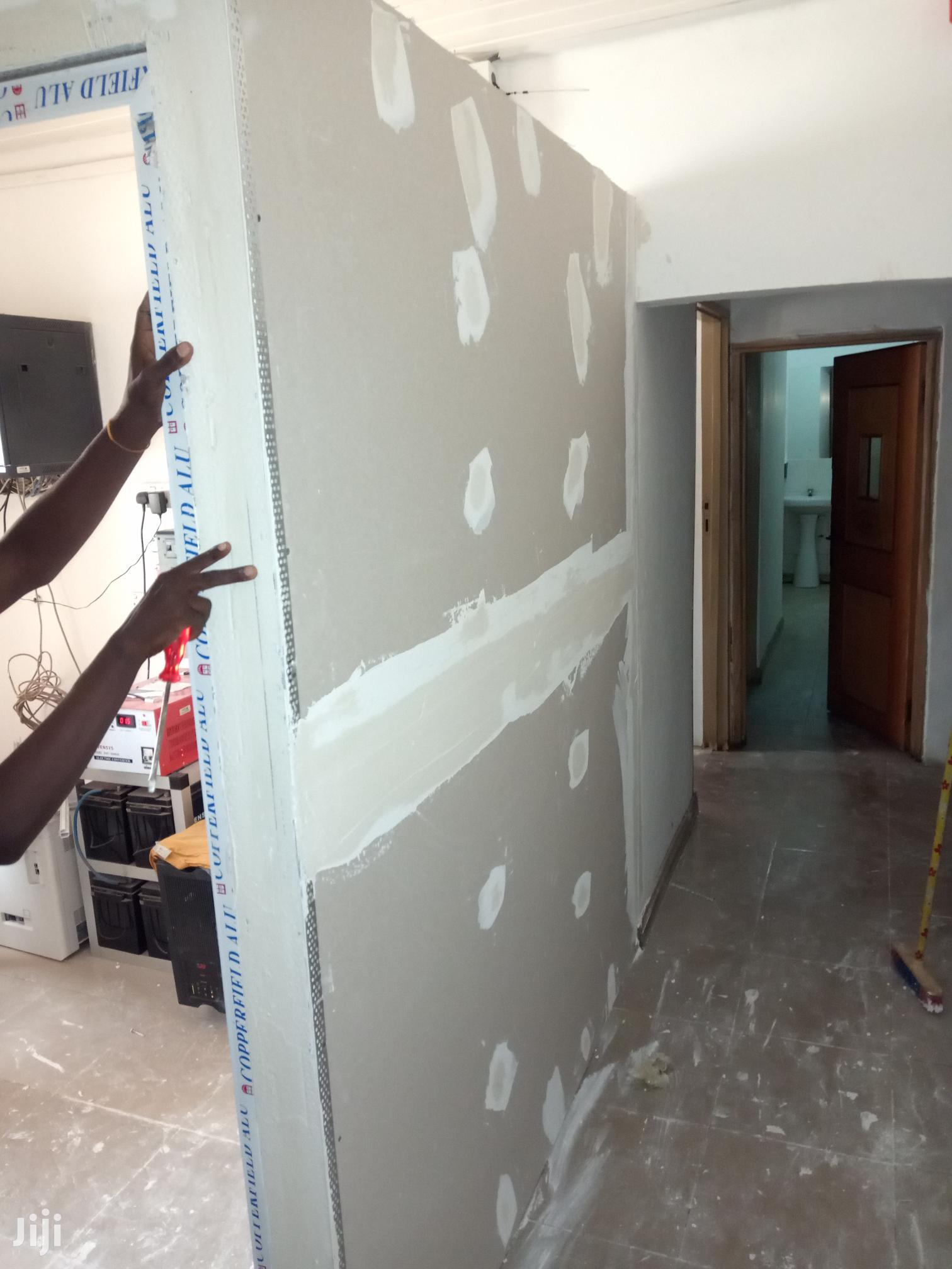 Plasterboard(Gypsum) Ceiling Partition And Acoustic Ceilings | Building & Trades Services for sale in Ga East Municipal, Greater Accra, Ghana