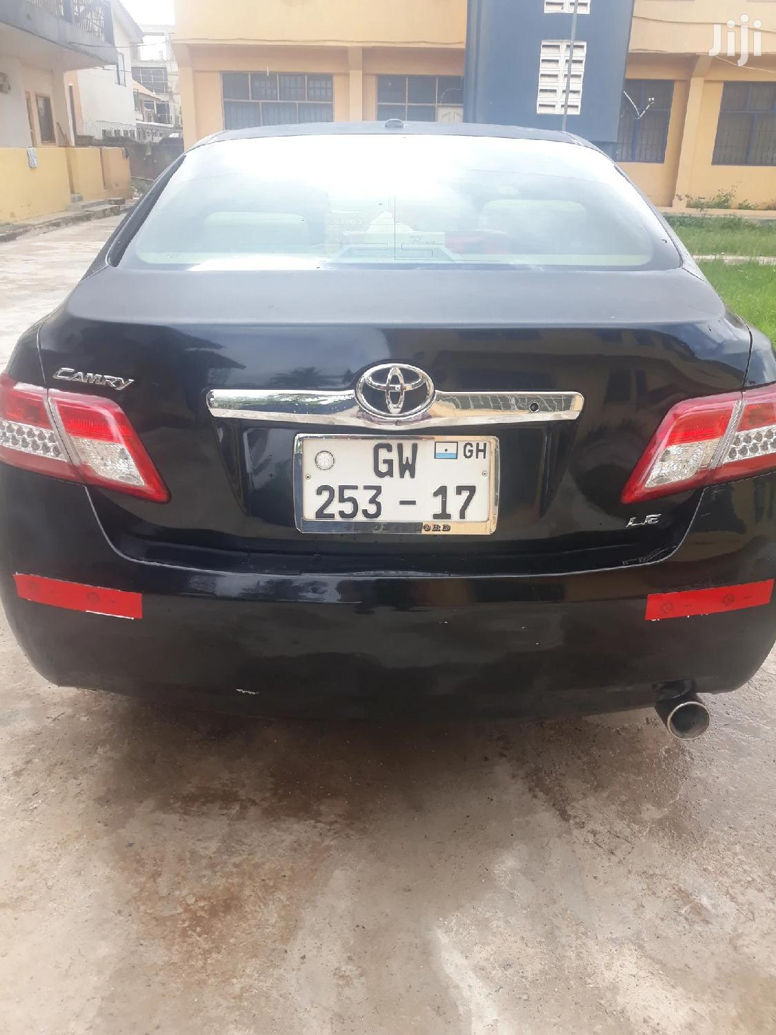 Archive: Toyota Camry 2011 Black