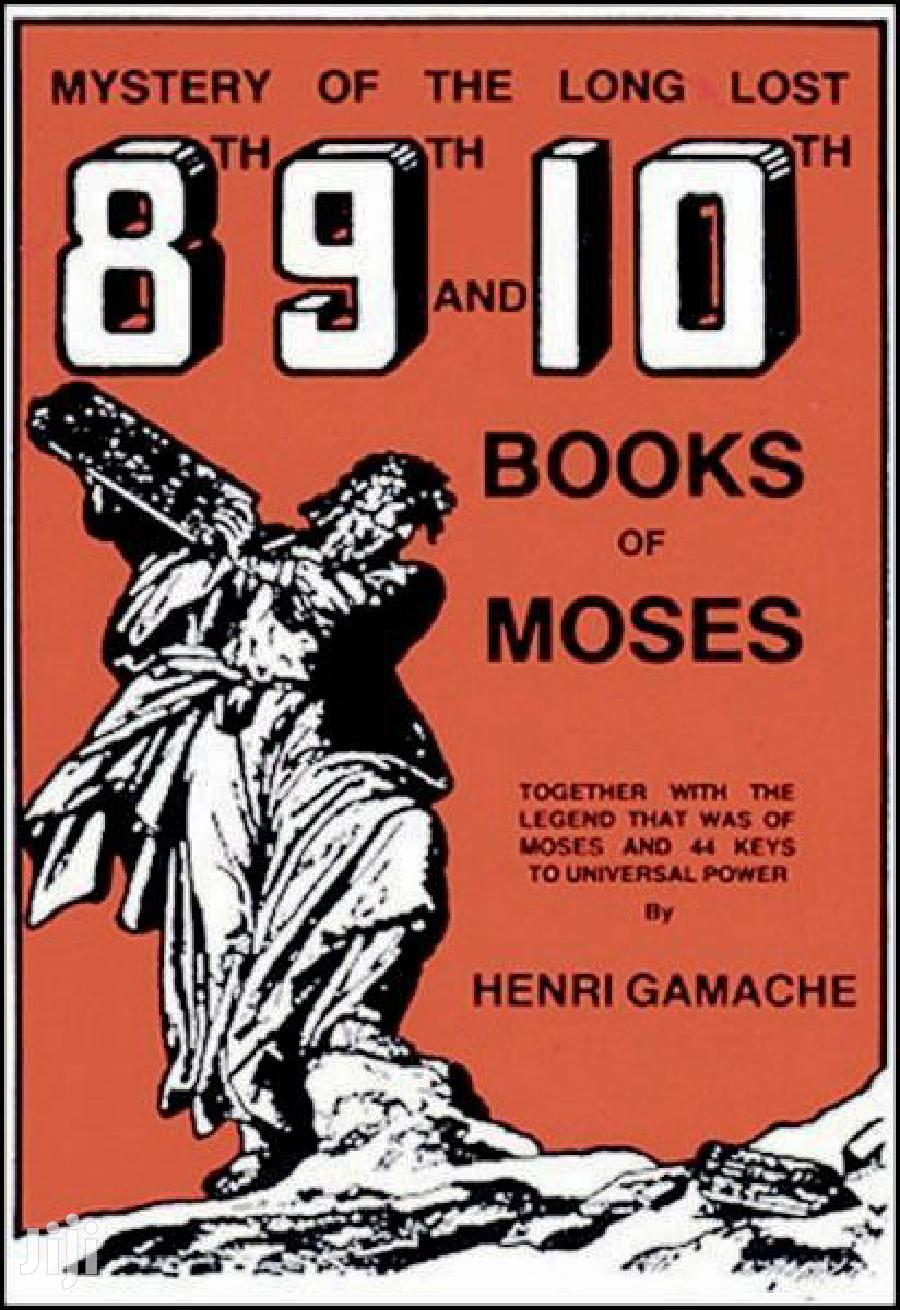 8, 9 and 10 Book of Moses | Books & Games for sale in Airport Residential Area, Greater Accra, Ghana