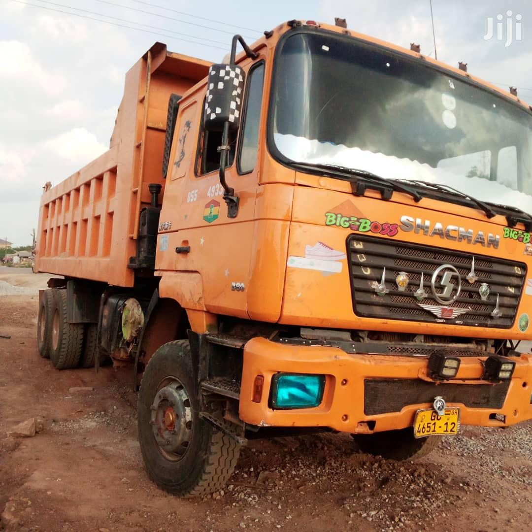 Shacman Tipper Truck for a Quick Sale in Sunyani