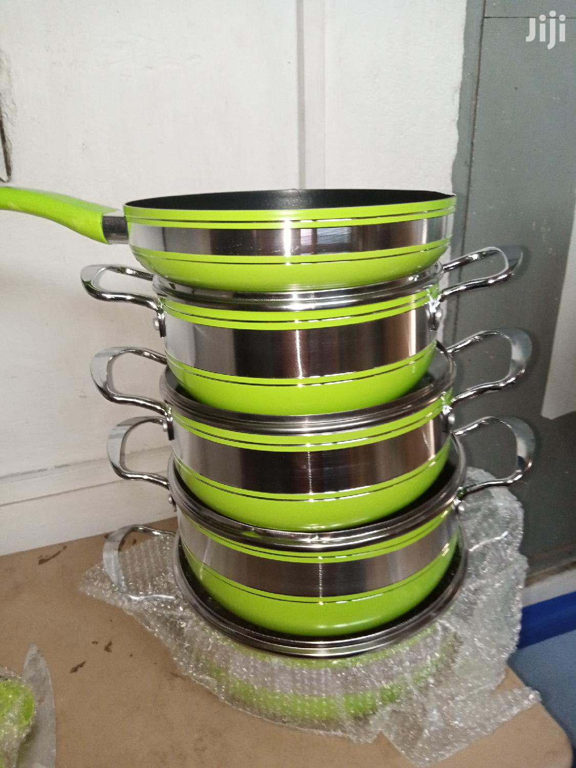 Archive: 5set Non-Stick Cooking Ware