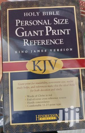 Holy Bible Personal Size Giant Print Reference Kjv   Books & Games for sale in Greater Accra, Airport Residential Area