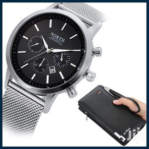 Quartz Stainless Analogue North Watch Plus Long Mens | Watches for sale in Greater Accra, Achimota