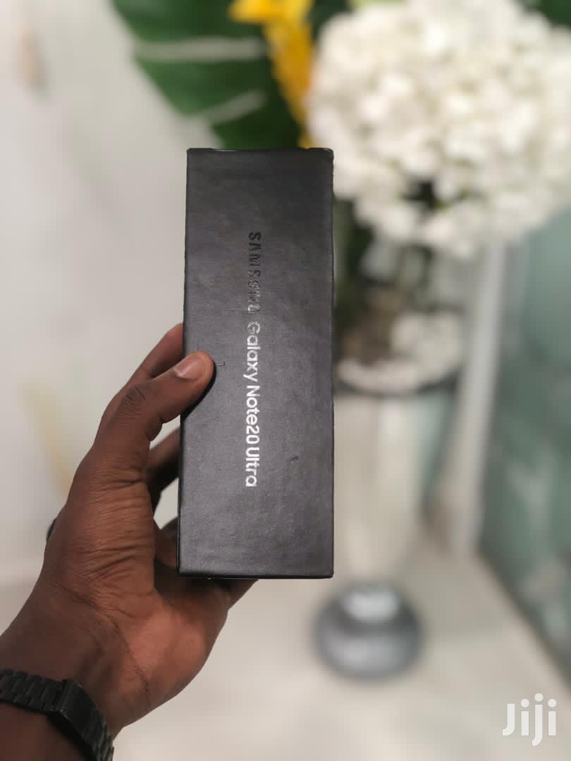 New Samsung Galaxy Note 20 Ultra 5G 256GB Black   Mobile Phones for sale in Tema Metropolitan, Greater Accra, Ghana