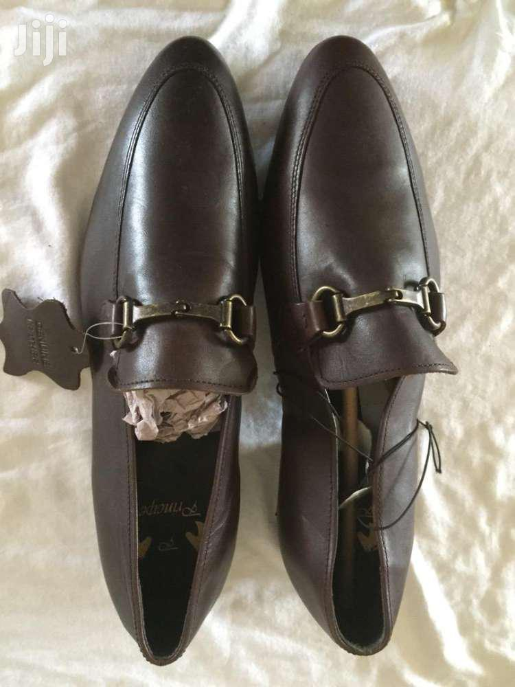 Principle Brown Shoe   Shoes for sale in Abelemkpe, Greater Accra, Ghana