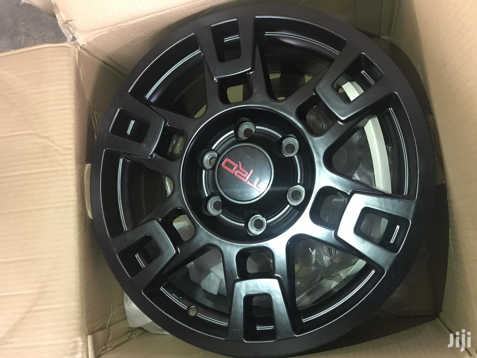 17 Alloy Rims 4 Wheel Drive   Vehicle Parts & Accessories for sale in Abossey Okai, Greater Accra, Ghana