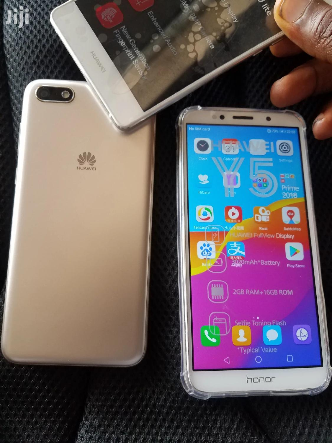 New Huawei Y5p 32 GB Gold