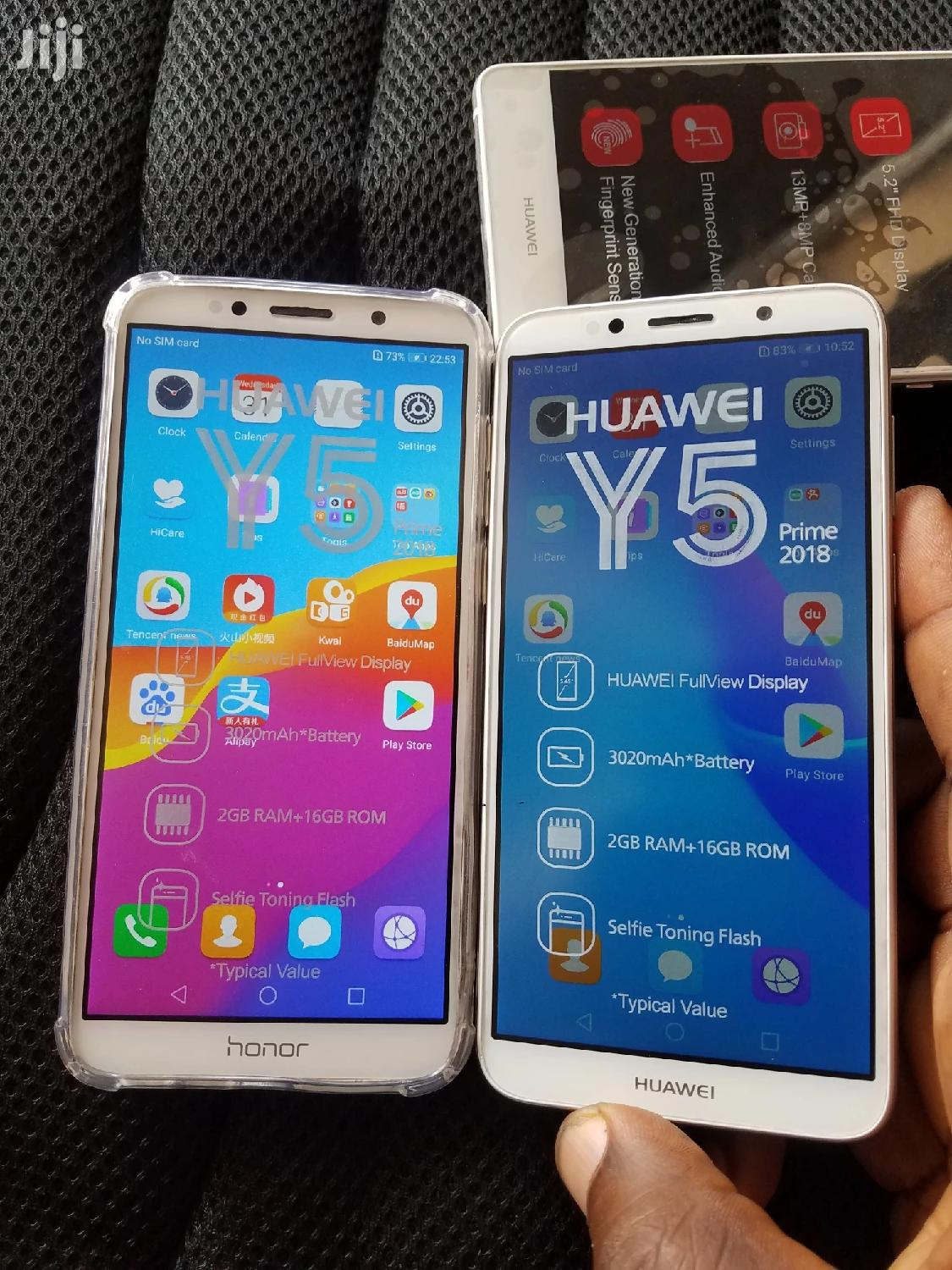 New Huawei Y5p 32 GB Gold | Mobile Phones for sale in Tesano, Greater Accra, Ghana