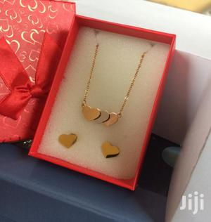 Quality Ladies Necklace With Earrings   Jewelry for sale in Greater Accra, Achimota