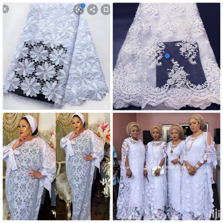 White Lace Fabrics