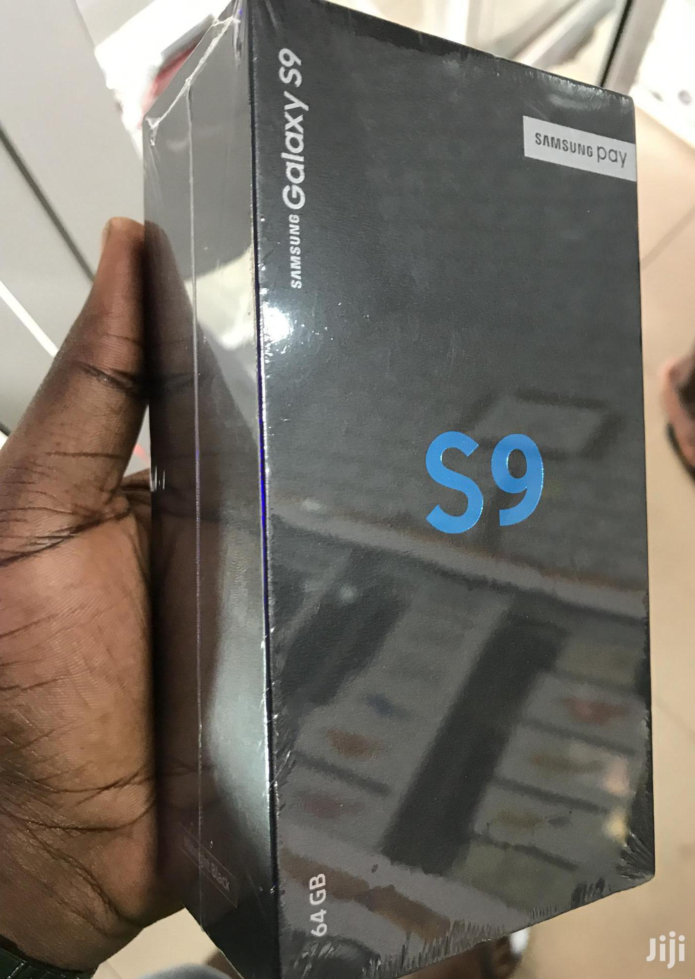 New Samsung Galaxy S9 64 GB Black   Mobile Phones for sale in Kumasi Metropolitan, Ashanti, Ghana