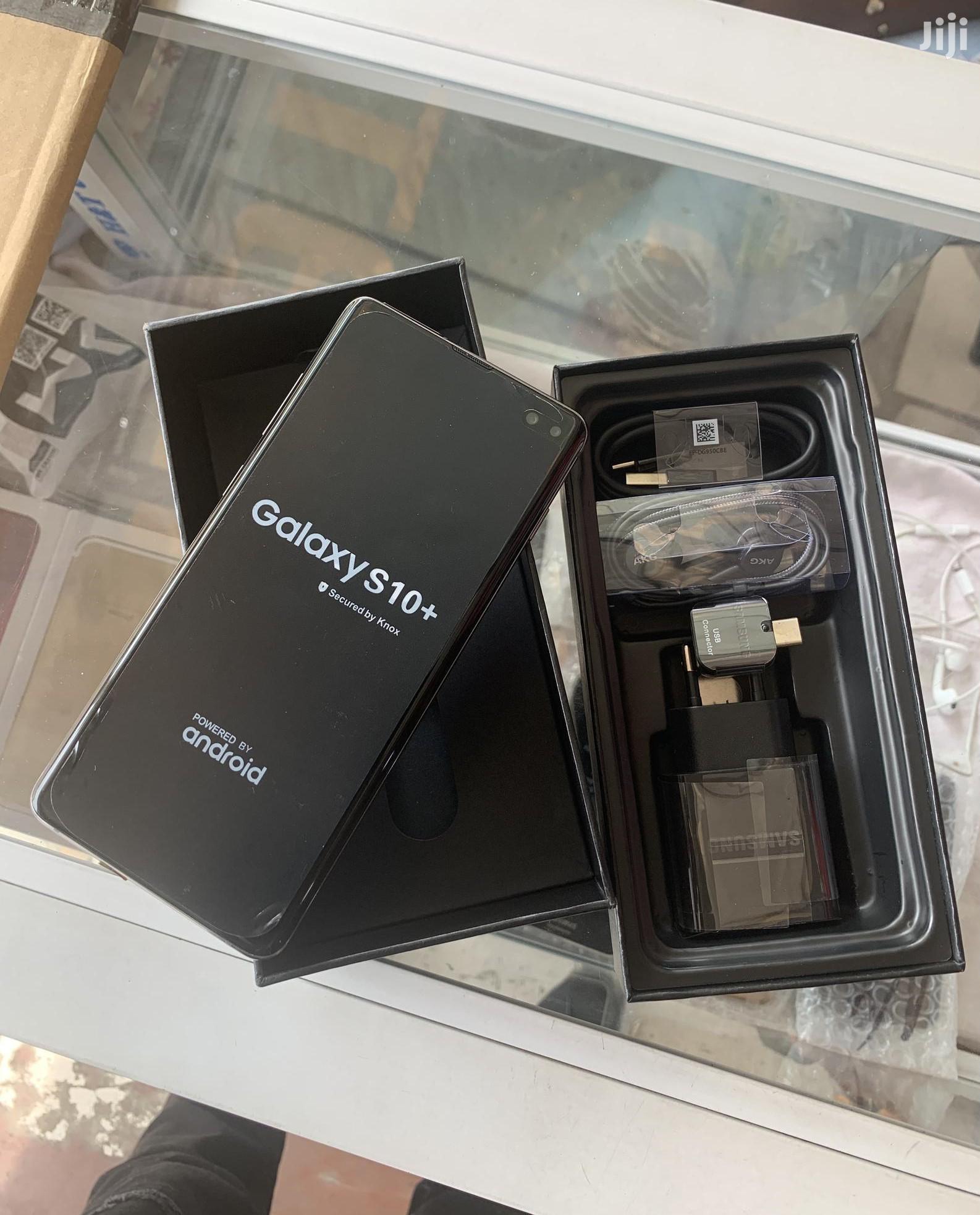 New Samsung Galaxy S10 Plus 128 GB Black