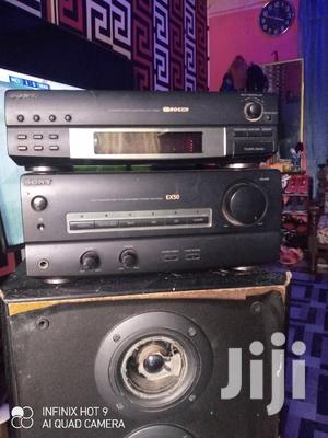 Sony Amplifier and Tuner + Speaker | Audio & Music Equipment for sale in Ashanti, Adansi North