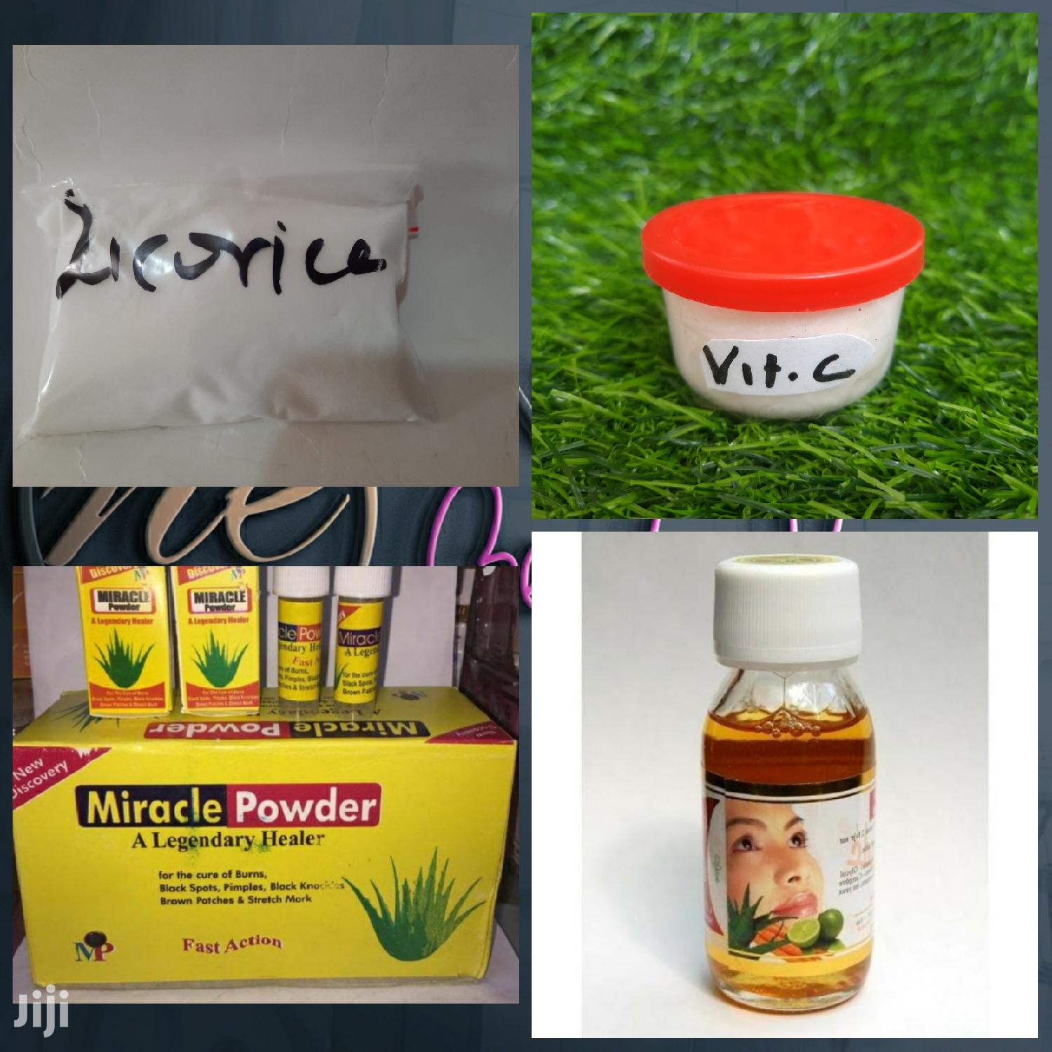 Archive: Licorice, Vitamin C Powder, Miracle Powder, Santarde Cleanse